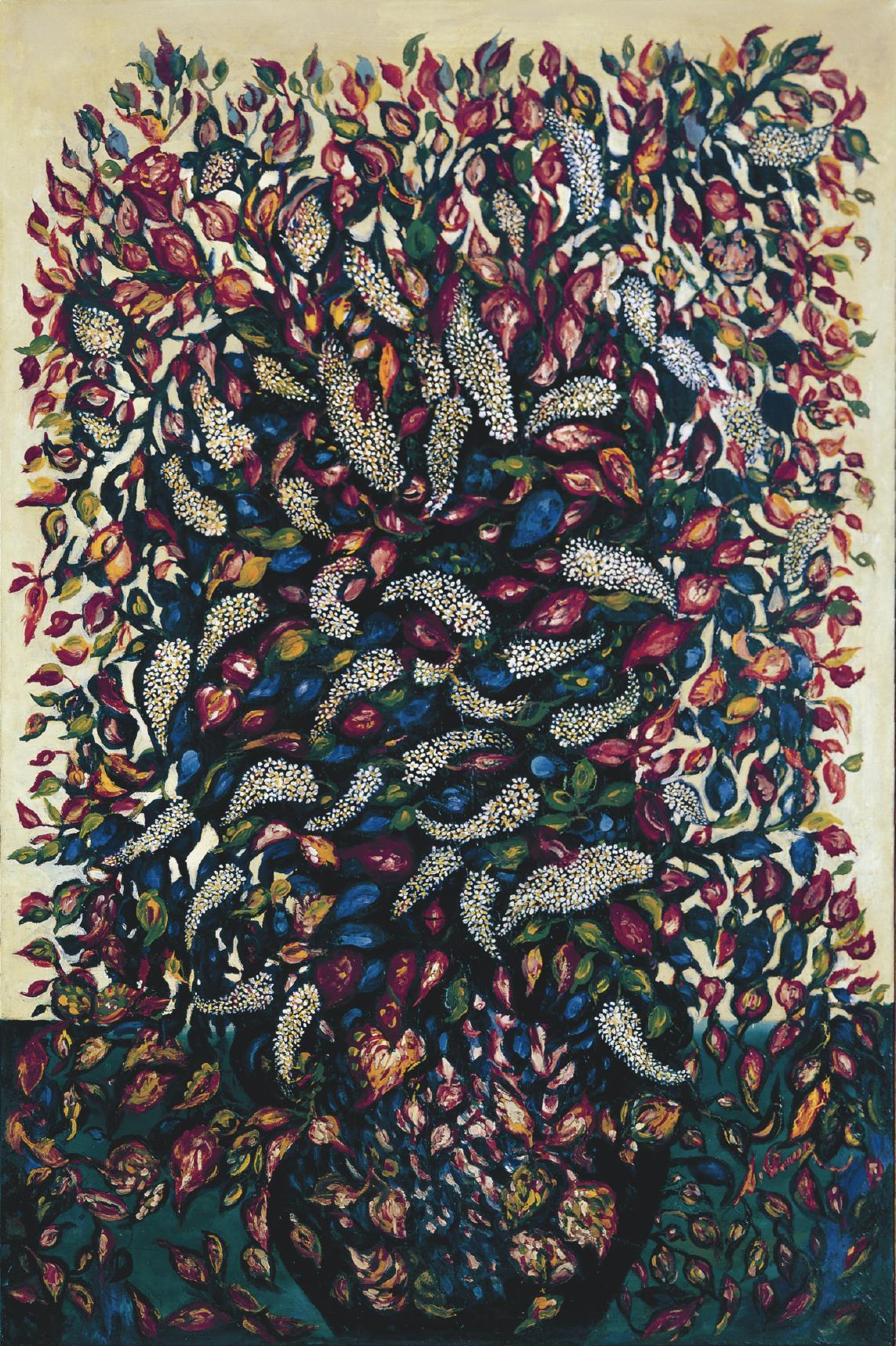Seraphine de senlis space in text for Art et artiste
