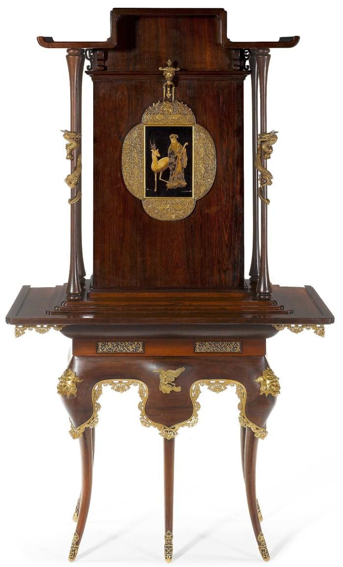 Cabinet d'Edouard Lièvre vendu €2,250,000 à Londres le 4 décembre 2008