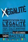16 décembre manifestation historique pour l'égalité des droits civils