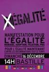6 décembre manifestation historique pour l'égalité des droits civils