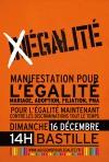 Dimanche 16 décembre manifestation historique pour l'égalité des droits civils