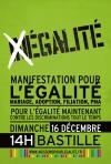 16 décembre : manifestation historique pour l'égalité des droits civils