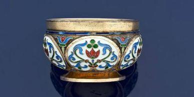 Une salière Fabergé de la Grande-Duchesse Anastasia aux enchères à Drouot