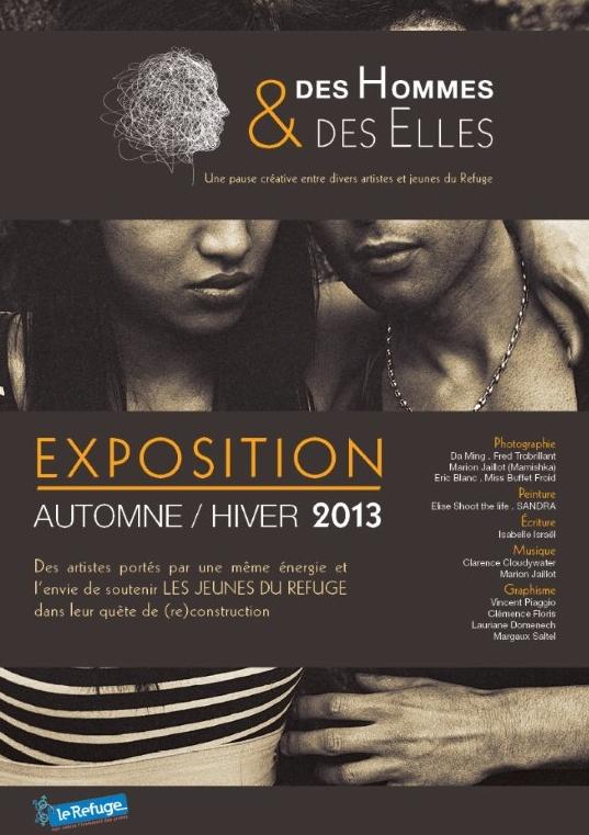 Exposition des Hommes & des Elles /Le Refuge