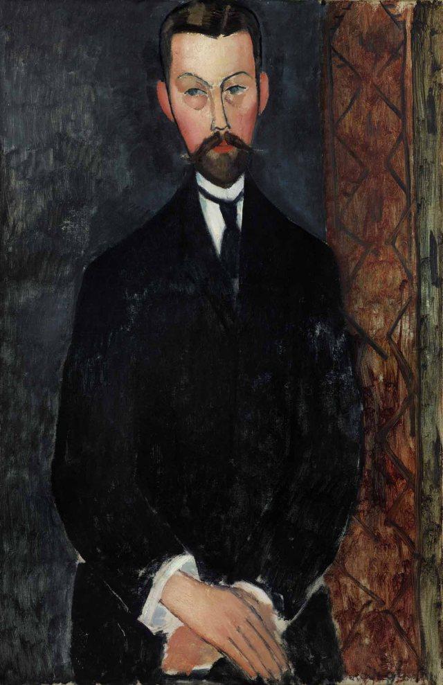 "Amedeo Modigliani : ""Portrait de Paul Alexandre"""