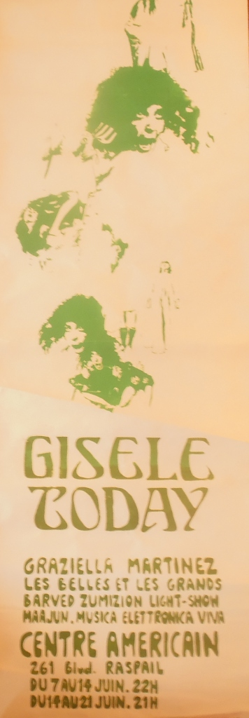 Affiche Gisele Today