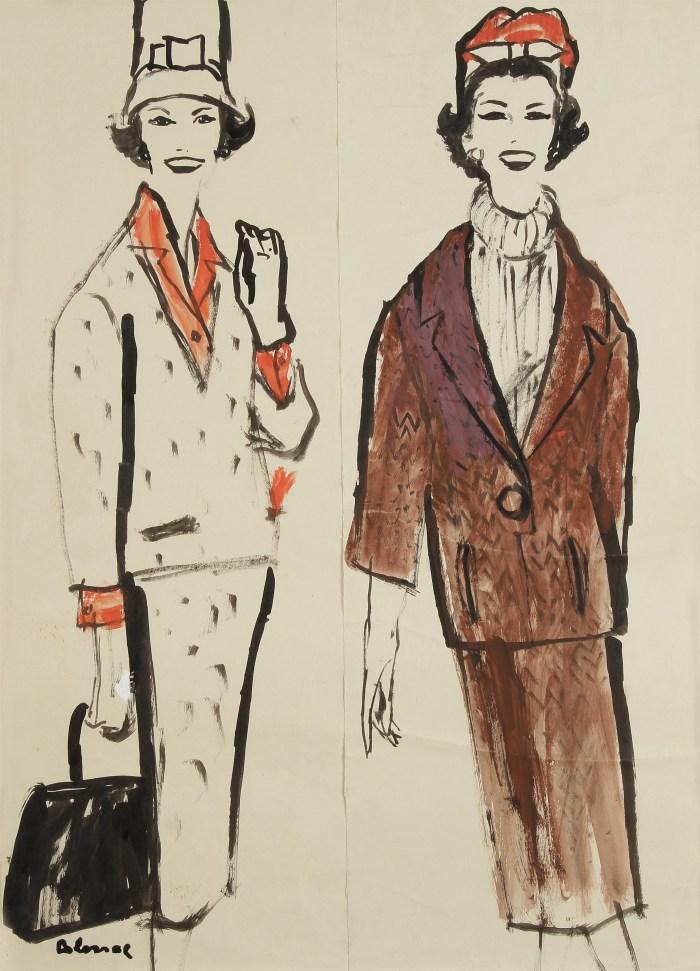 Blossac : étude pour Dior