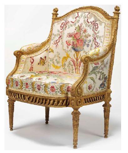 Fauteuil Marie-Antoinette Christie's