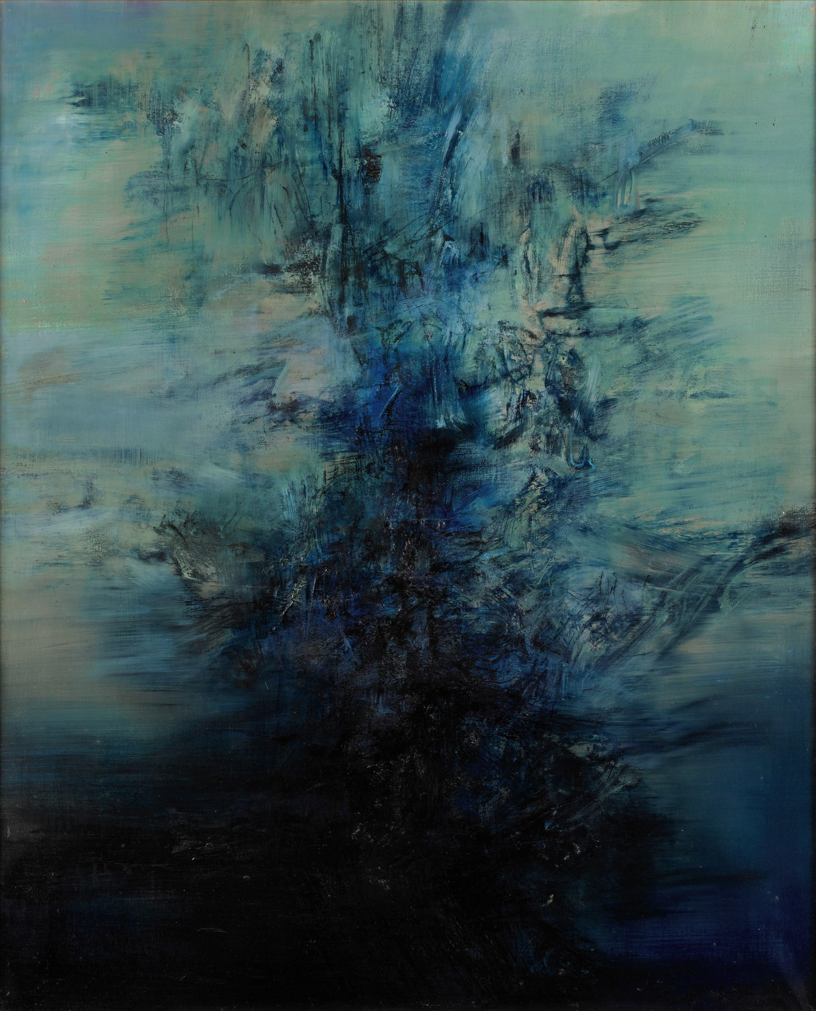 Zao wou ki for Artiste peintre chinois