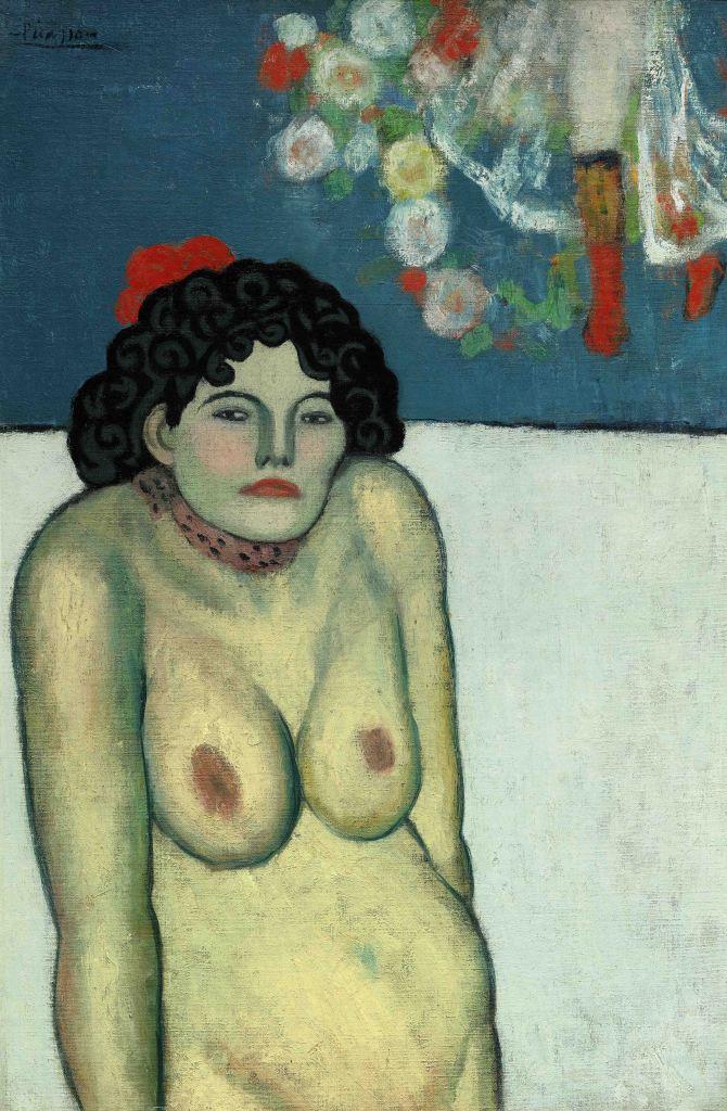 Picasso La Gommeuse