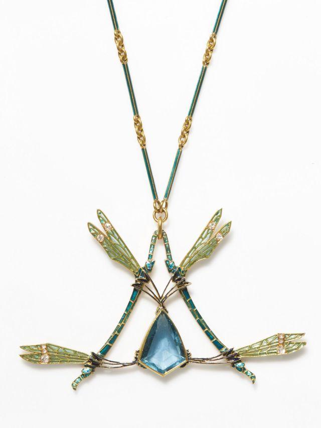 René Lalique, Collier Libellules, vers 1900 - © Artcurial