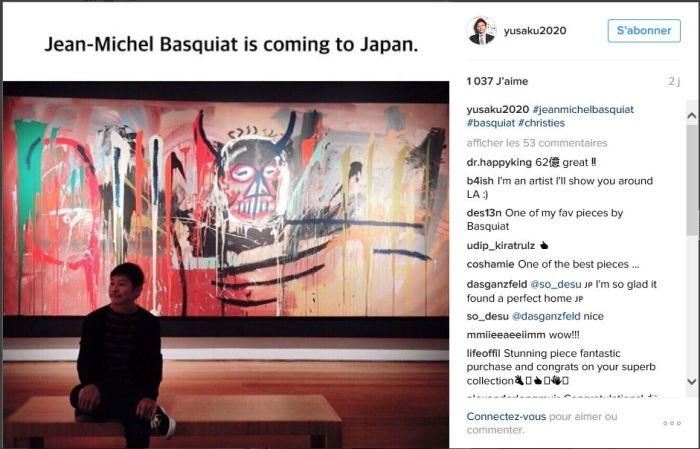 Yusaku Maezawa et son Basquiat