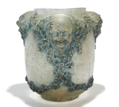 René Lalique : vase Trois Figures d'hommes