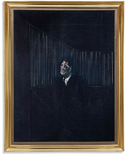 francis bacon man in blue Sothebys