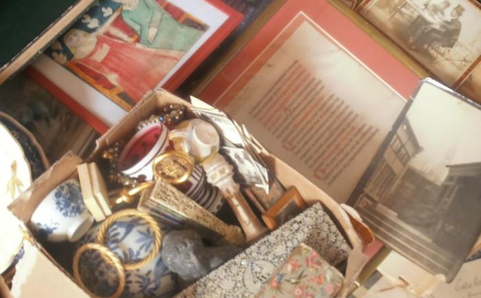 collections, antiquités, débarras