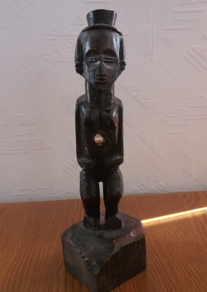 Statuette féminine Teke