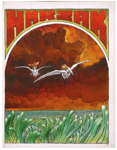 Moebius : Harzak ,1975